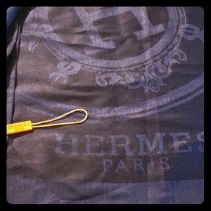 "Original HERMES PARIS Scarf 59"" long 27"" wide"